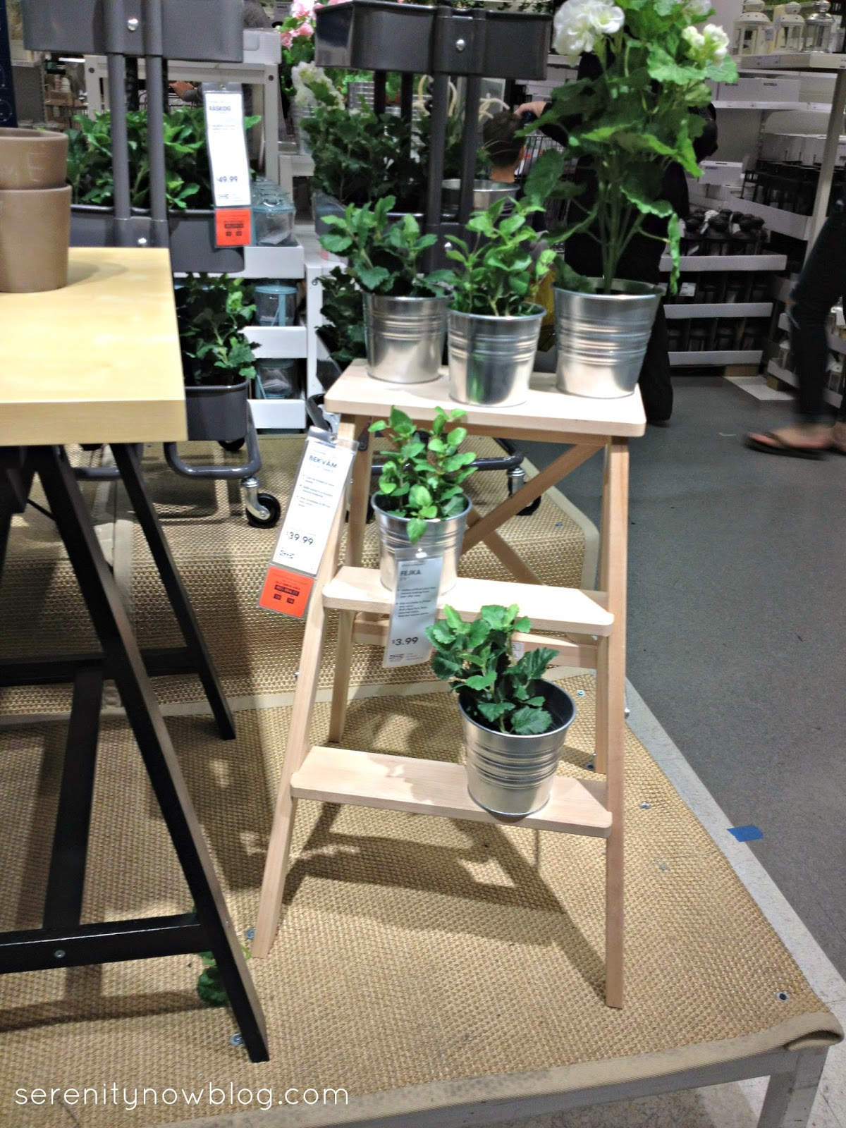 IKEA Spring Decorating Ideas, from Serenity Now #ikea #homedecor