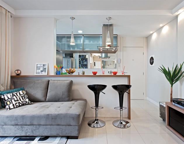 modelo de sofá tradicional deu espaço a um mais confortável e