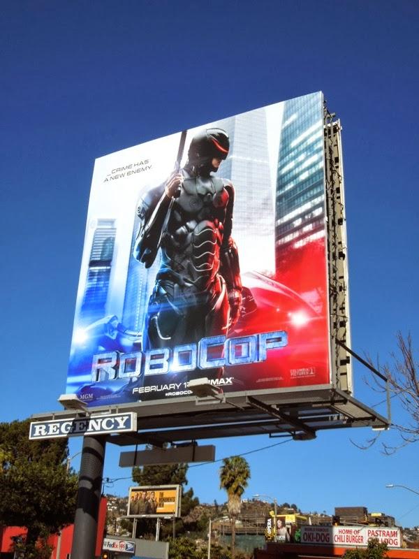 RoboCop 2014 remake billboard