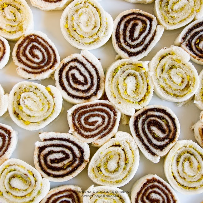Yummy pinwheels for healthy snacks