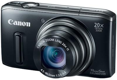 Canon PowerShot SX260 Zoom Capability