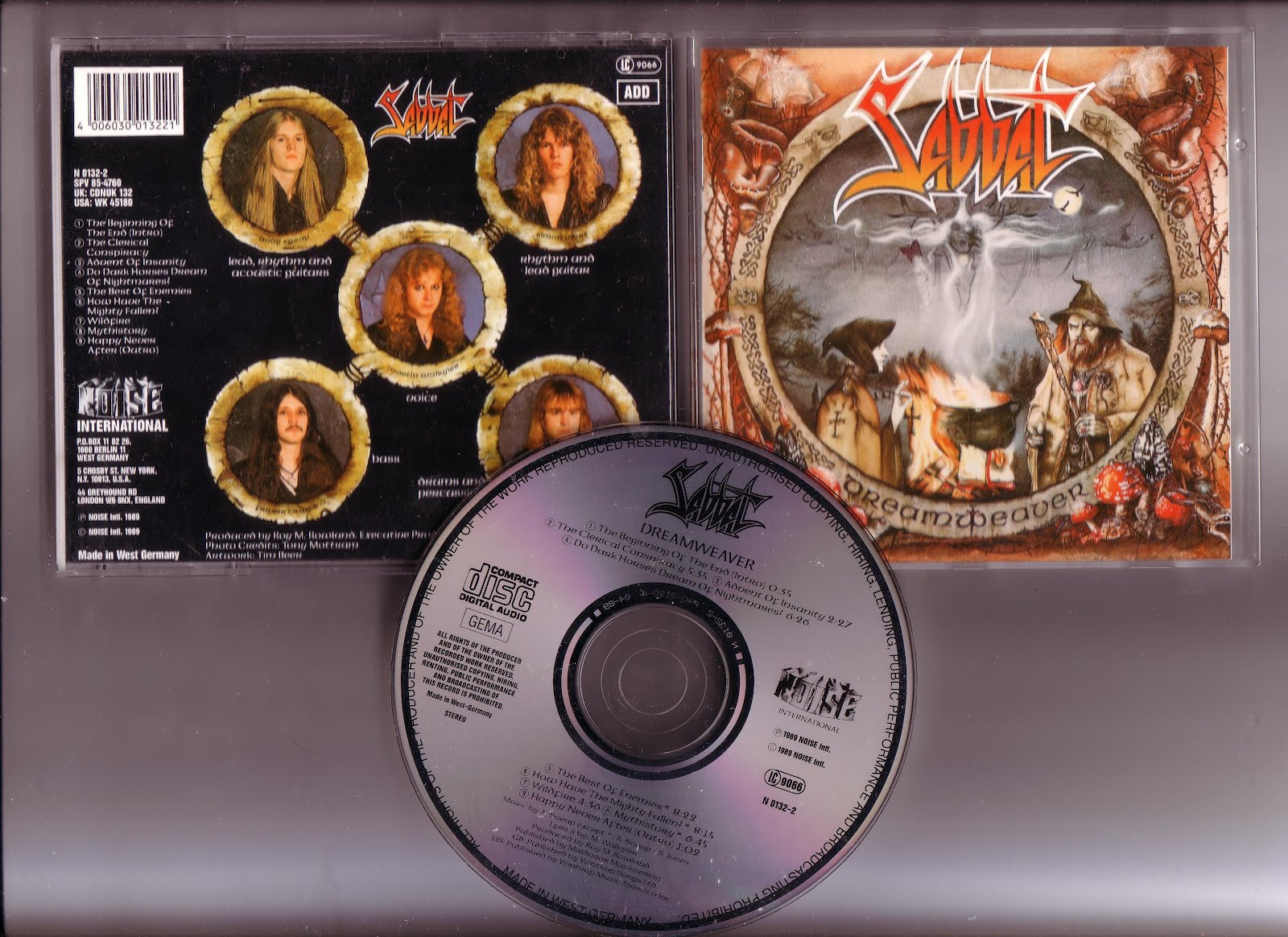 Sabbat - Dreamweaver (Reflections Of Our Yesterdays) - Expanded Edition