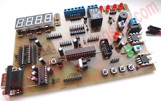 Gotowa płytka testowa mikrokontrolerów ATmega (ATmel AVR).