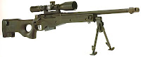 Accuracy International Arctic Warfare sniper rifle