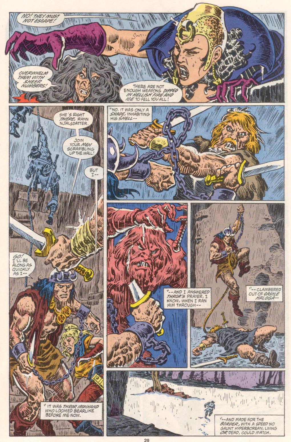 Conan the Barbarian (1970) Issue #254 #266 - English 22