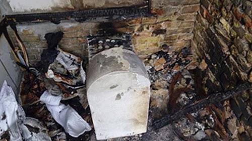 Profanan tumba de la hija del rabino Najman