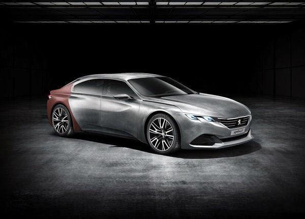 2014 New Peugeot Exalt Concept Exterior Review