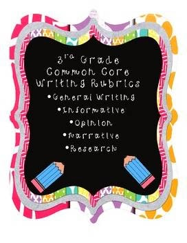 http://www.teacherspayteachers.com/Product/3d-Grade-Common-Core-Writing-Rubrics-617045