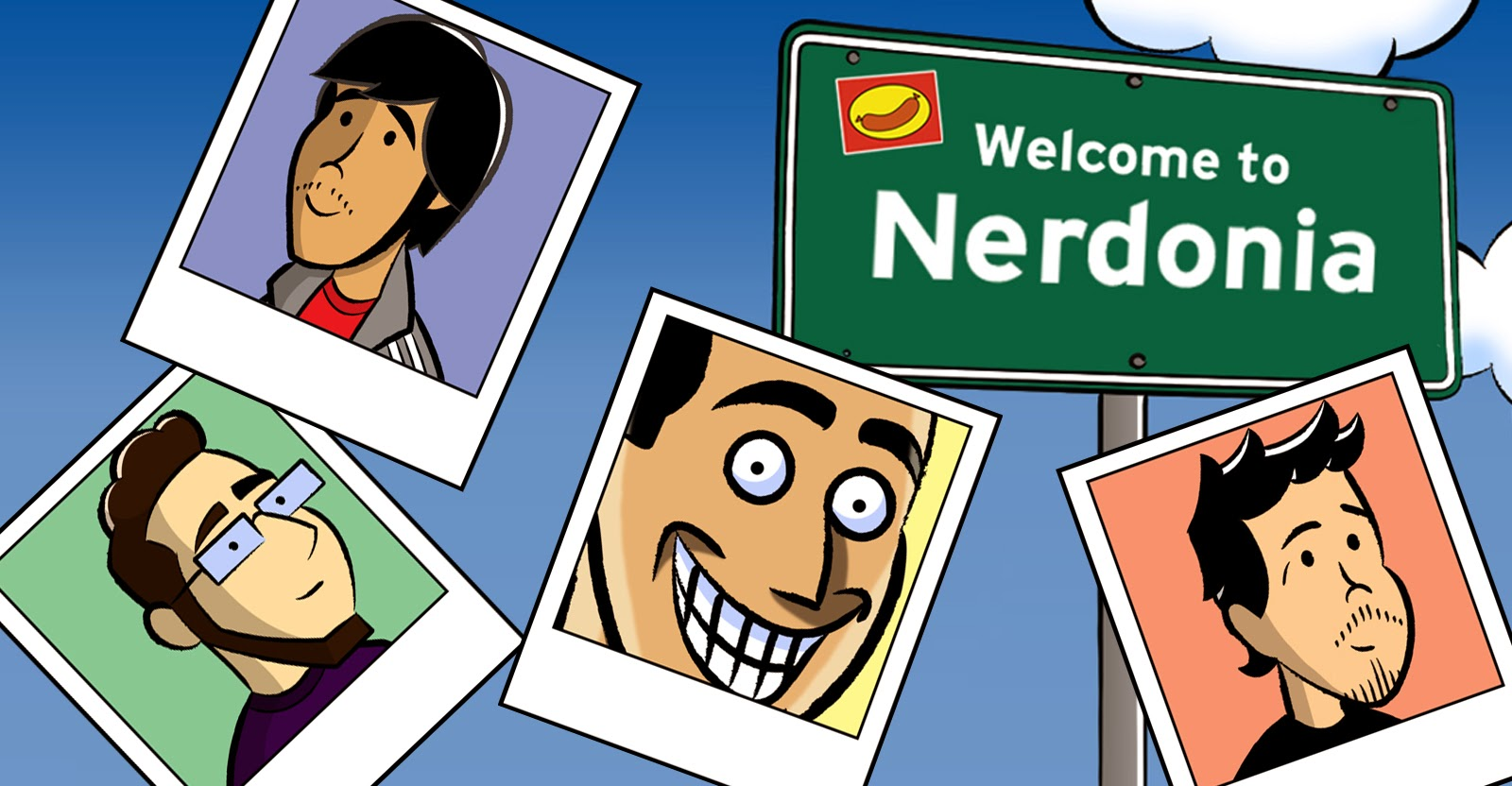 Nerdmigos Welcome to Nerdonia