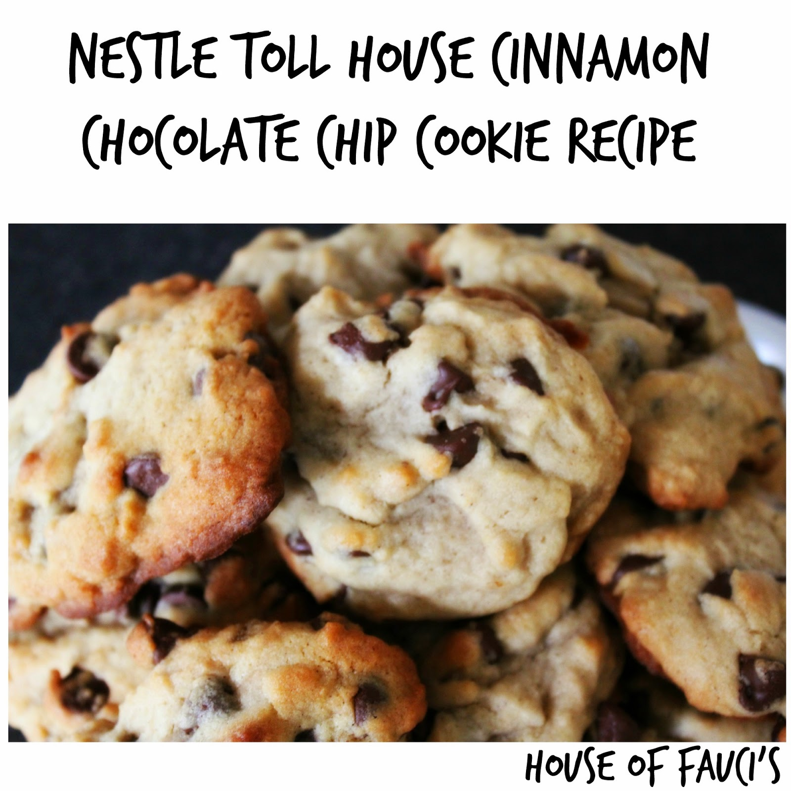 House of Fauci's: Nestle Toll House Cinnamon Chocolate Chip Cookie ...