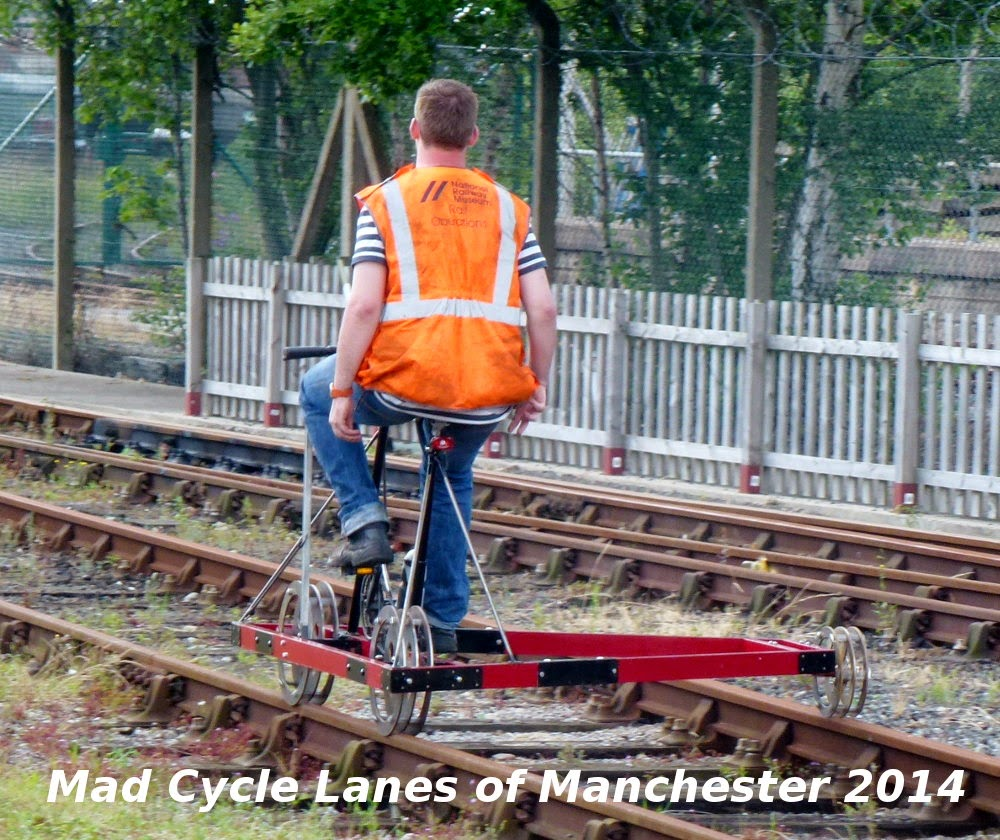 Mad Cycle Lanes Of Manchester Rail Bikes Velocipedes