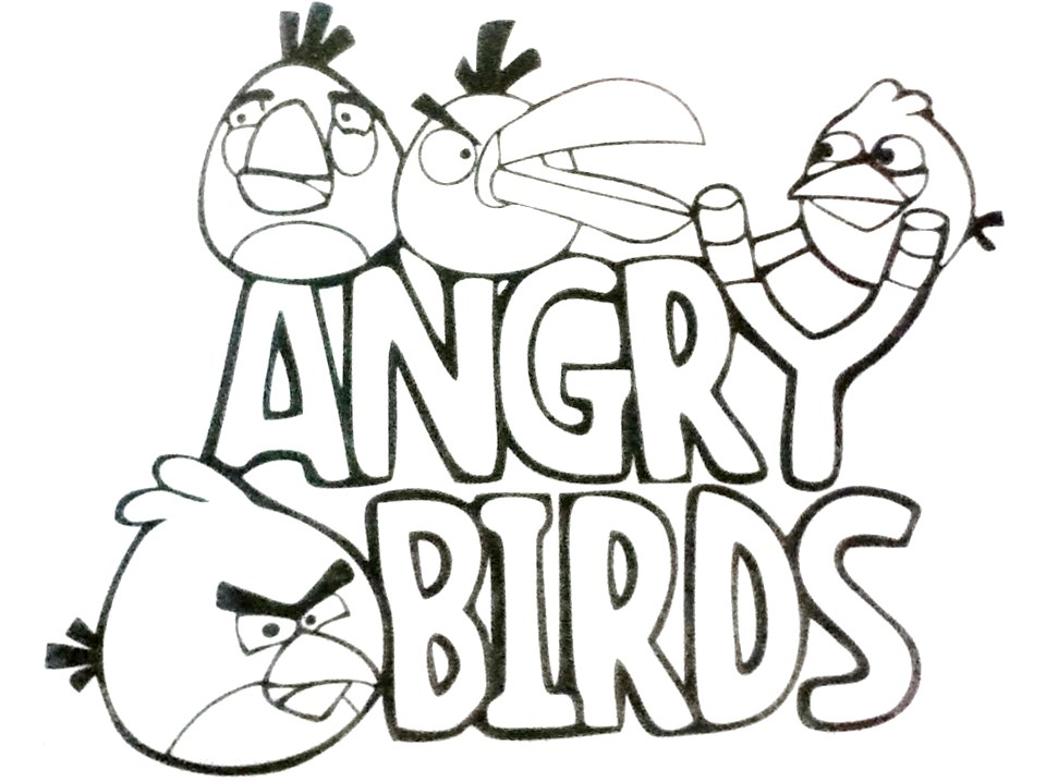 PZ C: angry birds dibujos