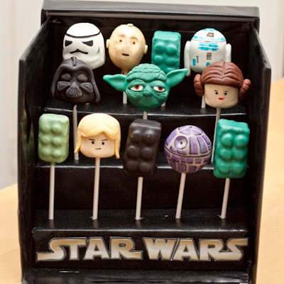Star Wars Cake Pop Images : My Wey of Life: Star Wars Lego Cake Pops