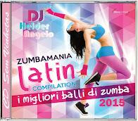 CD Zumbamania Latin Compilation 2015 Faixas Nomeadas e Sem Vinhetas