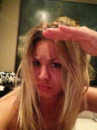 fotos intimas de Kaley Cuoco