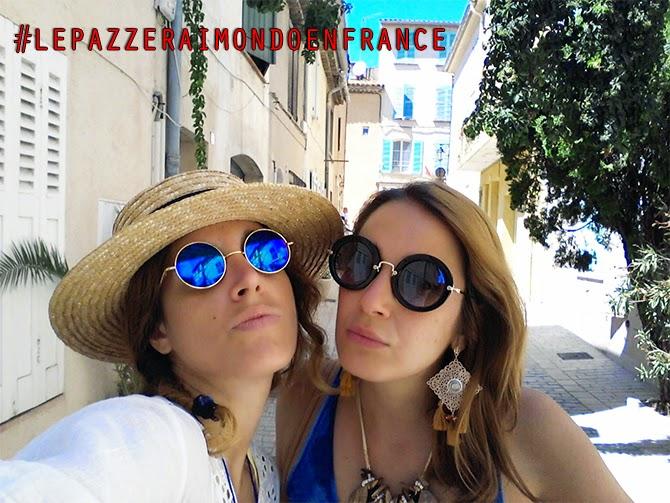 Saint Tropez occhiali specchiati selfie elisa raimondo cristina raimondo