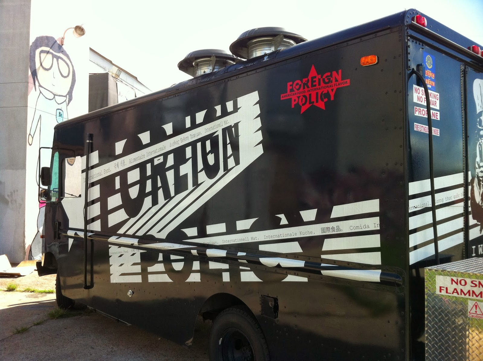 Foreign Policy Truck, Food Truck Houston TX