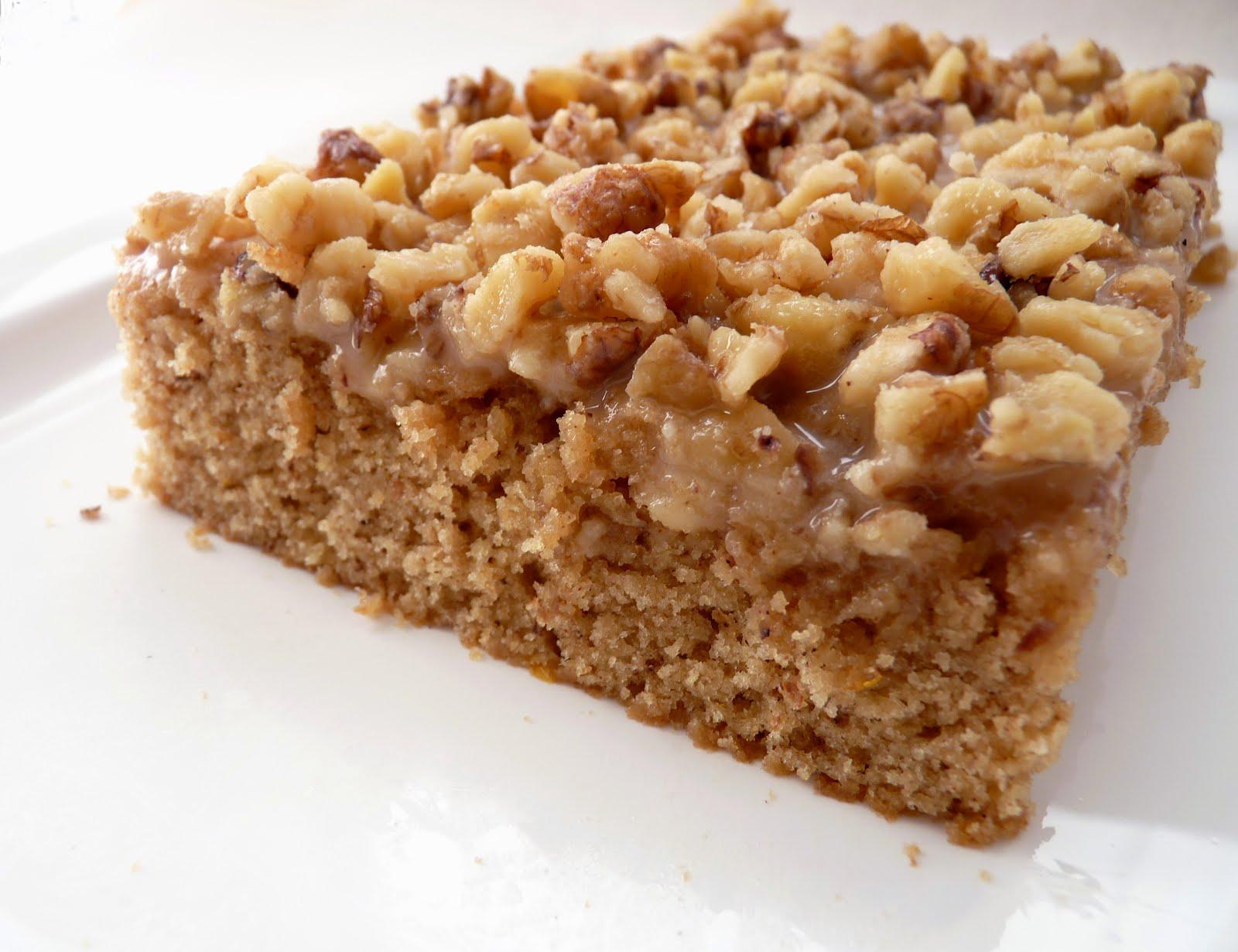 pastry studio: Walnut Maple Cake