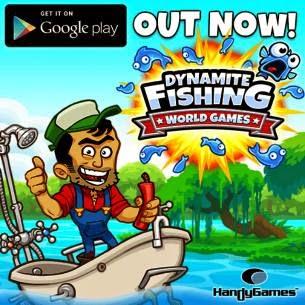 تحميل لعبة صيد السمك Dynamite Fishing للاندرويد مجانا