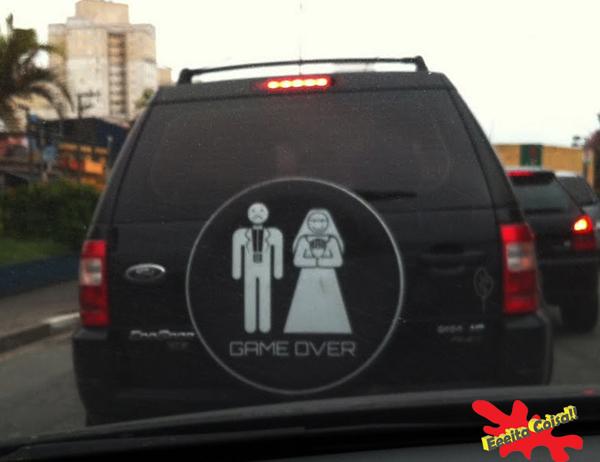 jogo, casamento, game over, eeeita coisa
