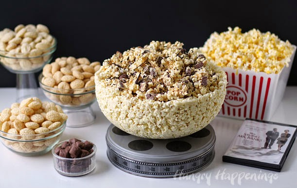 100% Edible Popcorn Bowl recipe