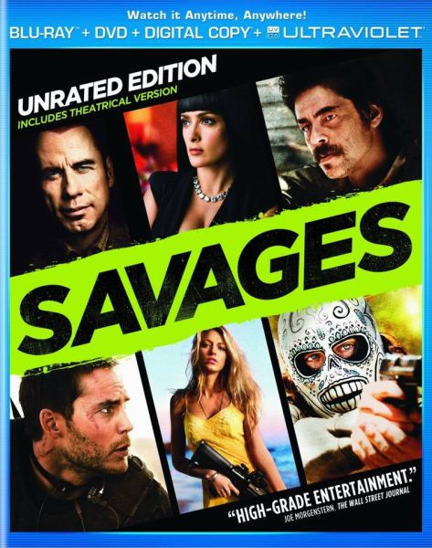 Savages (2012) Dual Audio BRRip 720p Hindi Dubbed Download
