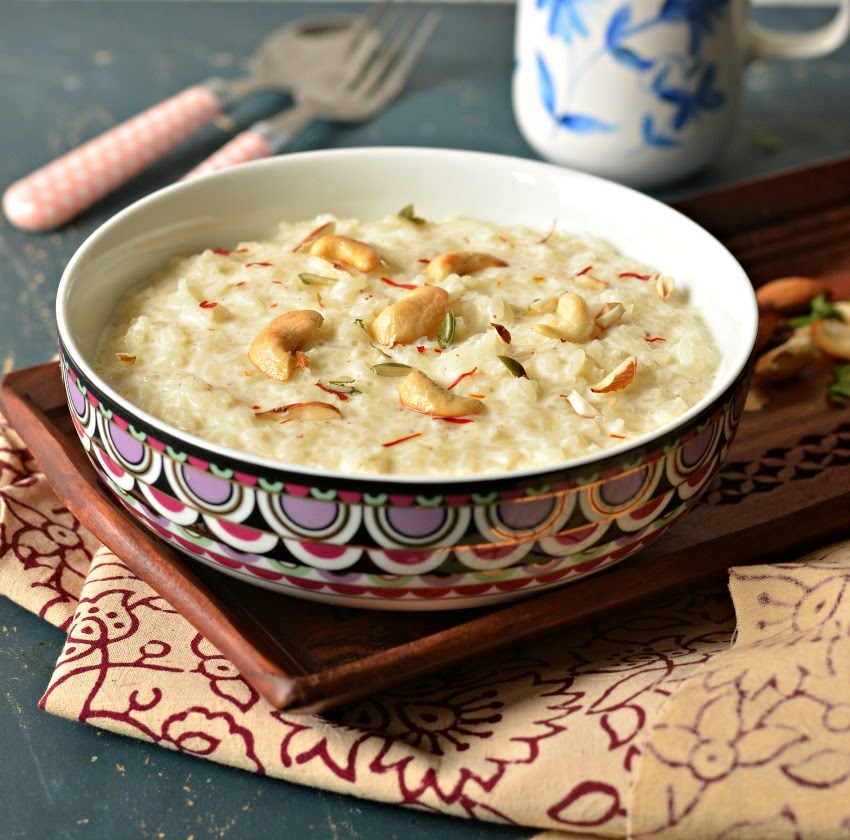 rice kheer :: chaawal ki kheer :: simple kheer recipe