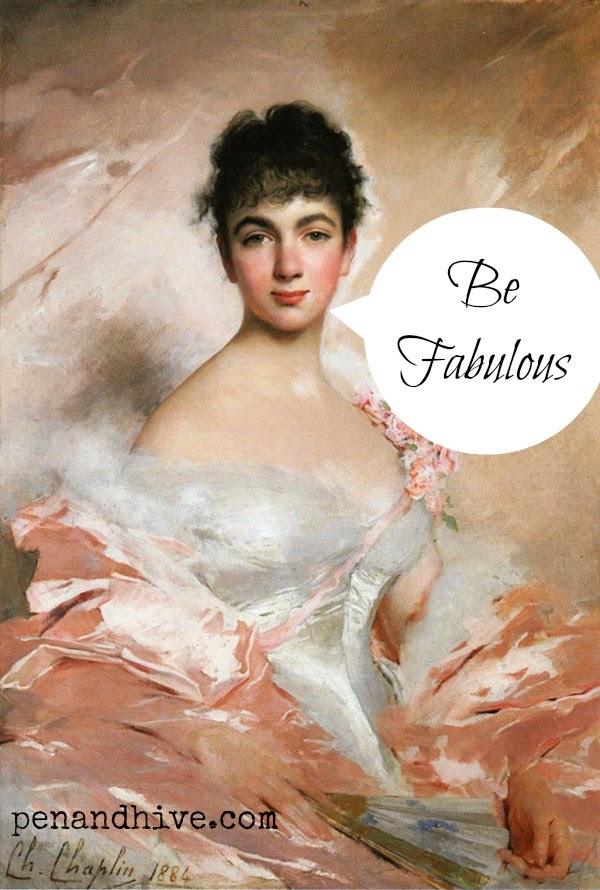 Reminder to be fabulous by Chaplan