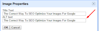 Optimizing Image, ALT Tag for SEO