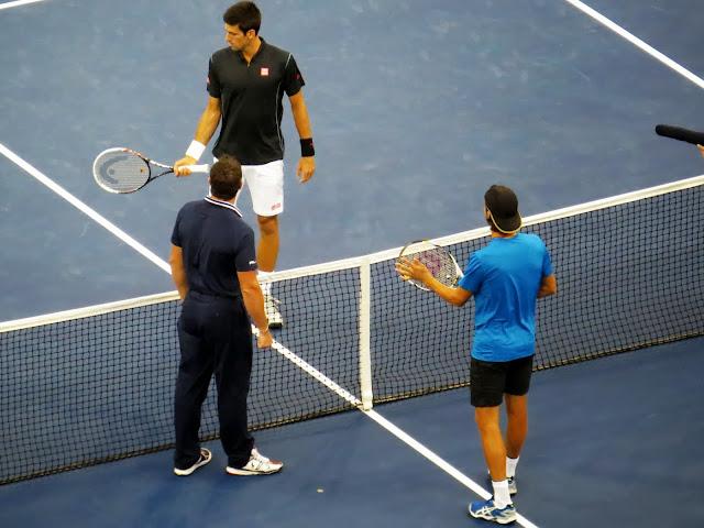 Novak Djokovic Joao Sousa 2013 US Open