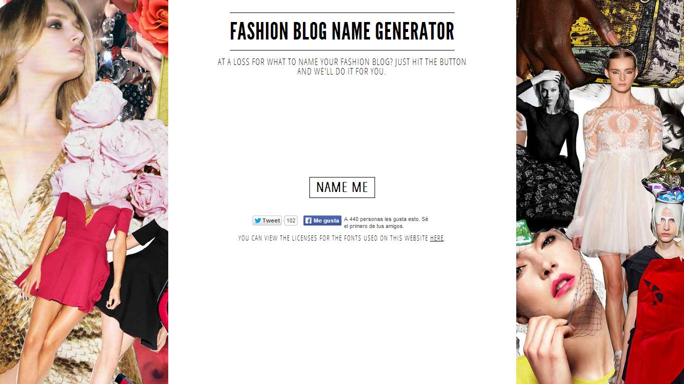 Como Llamar Mi Blog Generadores De Nombres