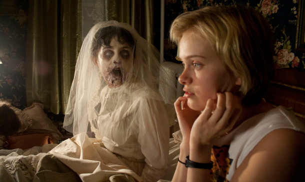 Ghost bride in The Innkeepers
