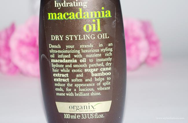 Organix Macadamia Oil