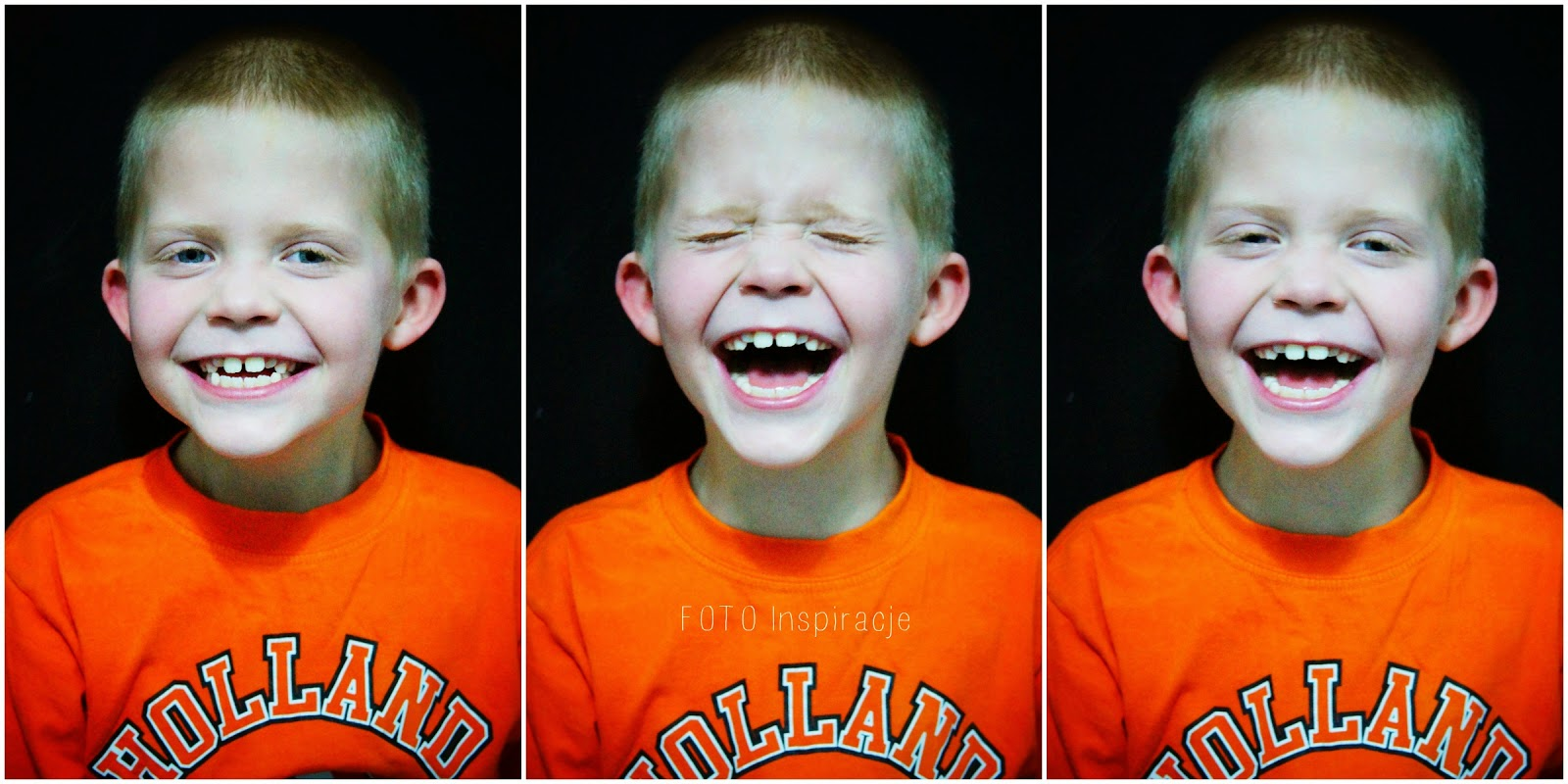 Fotografia dziecięca, dziecięcy uśmiech