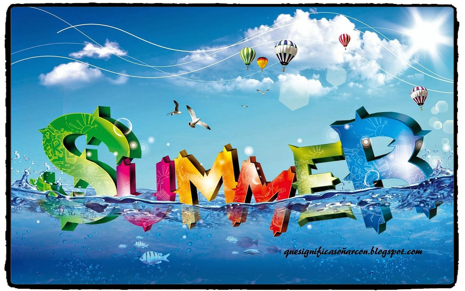 soñar con el verano que significado tiene