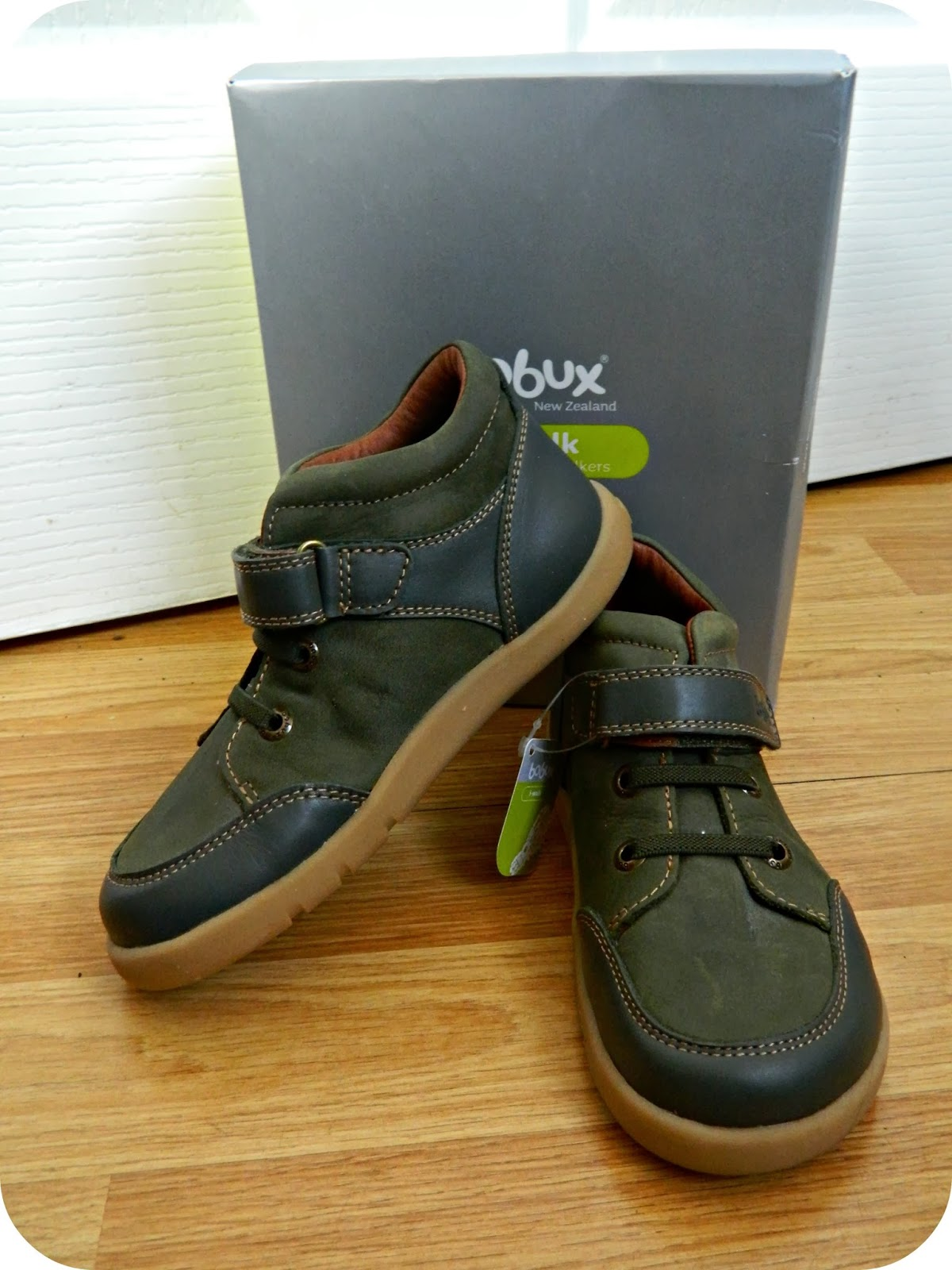 Bobux Everest Boots in Green