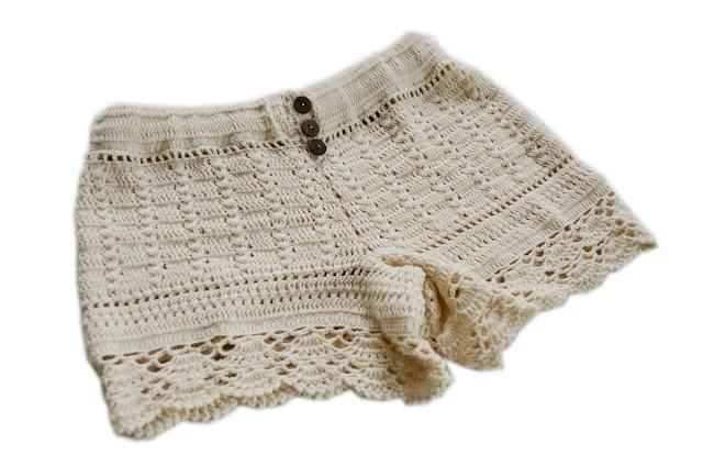 Free Patterns Crochet Shorts : Arte en casa by Nauma: Shorts crochet