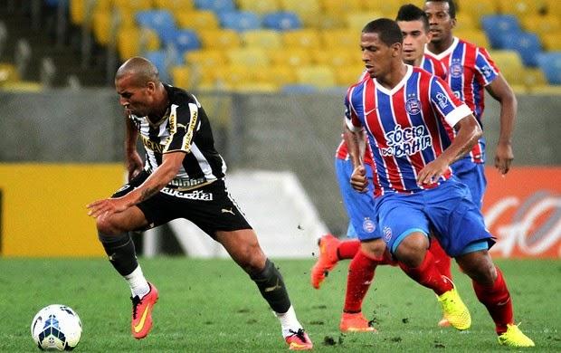 Bahia vira para cima do Botafogo