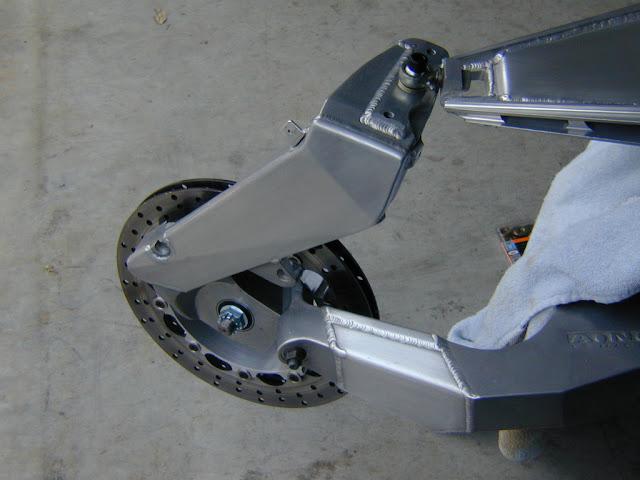 Julian Farnam FFE 350 Forkless Yamaha RZ Front Suspension