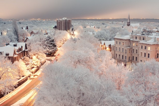 Dingle, Liverpool, England - 19 Breathtaking Photos Of Winter Wonderlands Around The World
