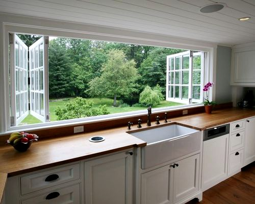 Dream Bifold Windows over Kitchen Sink | Content in a Cottage