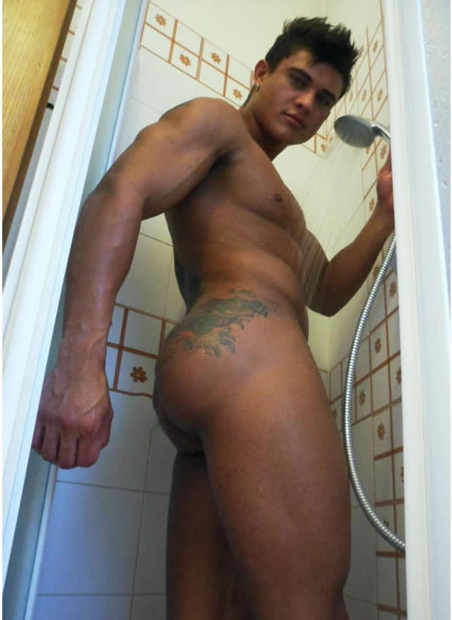 The Most Hot Men Naked In Shower
