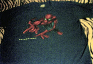 Spider-Man shooter t-shirt