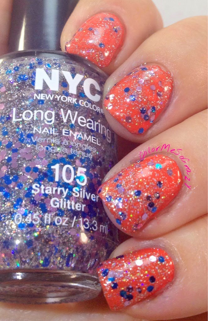 zoya NYC New York Color glitter topper Golden oldie thursday