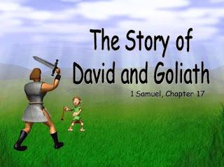 Cerita Alkitab Daud dan Goliat (powerpoint)