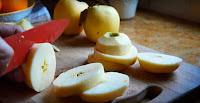rosquillas, manzana, manzanas, receta, postres, recetas caseras, aceite de oliva, vainilla,