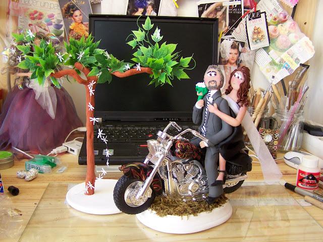 Matrimonio Tema Moto : Boda tema motos con temática de bicis manualidades