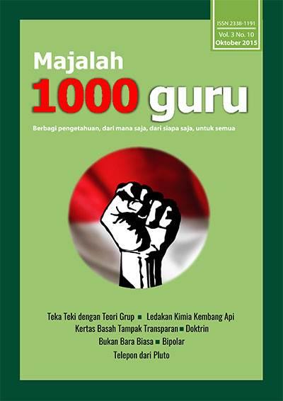 Majalah 1000 Guru Edisi Oktober 2015
