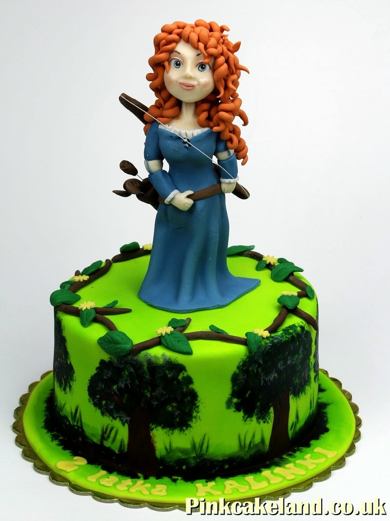 Merida Brave Birthday Cake London