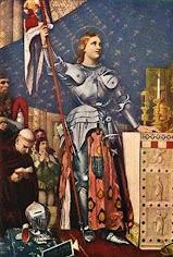 Santa Juana de Arco, Virgen y Mártir